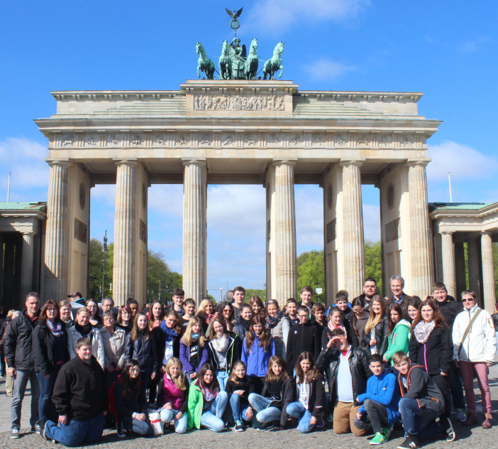 Jugendkapelle vor dem Brandenburger Tor 2014